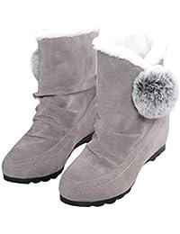 Stivali Donna , feiXIANG® Donna moda stivaletti scarpe casual shoes caldo camoscio scarpe confortevoli