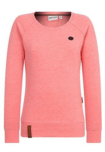 Naketano Female Sweatshirt Krokettenhorst Kinky Red Melange, M