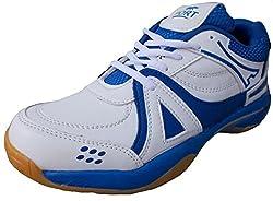 Port Unisex Revolve-Active PU Badminton Shoes(Size 6 Ind/Uk)