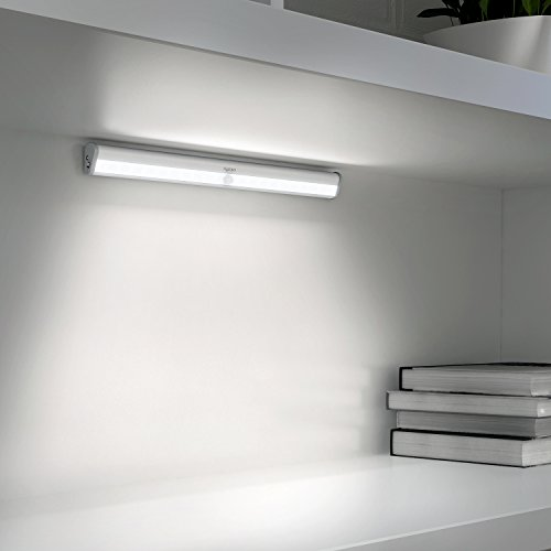 Aglaia lampada armadio a 20 led con sensore movimento - Lampade per scale ...