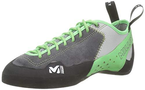 MILLET Rock Up, Scarpe da Arrampicata Unisex-Adulto, Verde (Flash Green 8736), 43 1/3 EU