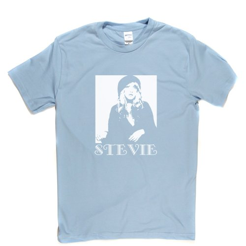 stevie-nicks-t-shirt-lightblue-white-medium