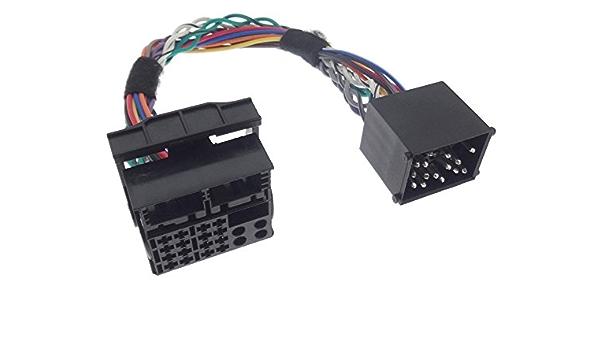 Umrüstadapter Bm24 Auf Bm54 Radio Adapter Runde Flache Pins Kompatibel Mit Bmw E46 E39 E38 E53