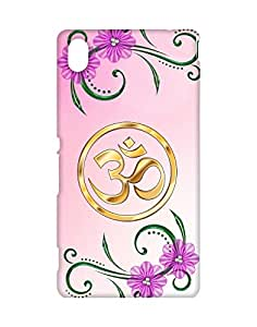 Mobifry Back case cover for Sony Xperia M4 Aqua Mobile ( Printed design)