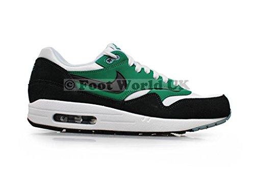 Nike Air Max 1 537383, Herren Low-Top Sneaker Grün/Schwarz