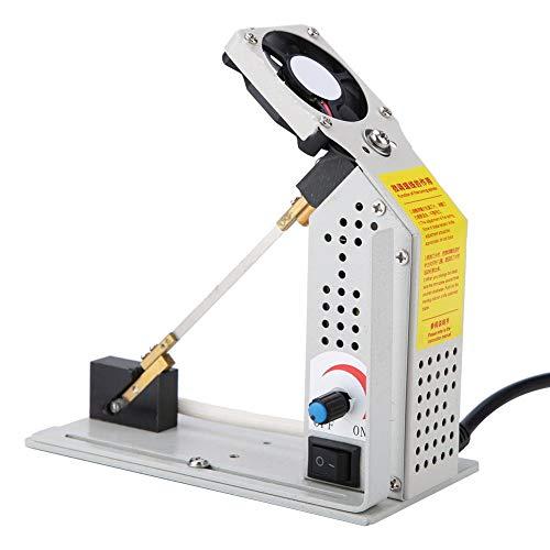 Elektrische Seilschneider Heißer Schneidemaschine Heißes Messer Thermische Klinge zum Schneiden Seil, Gurtband, Stoff, Gummiband(EU-Stecker) (Gurtband Messer)