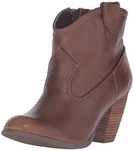 Not Rated Geronimo Damen Rund Kunstleder Mode-Stiefeletten Tan