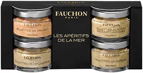 Fauchon - Kit de 4 rillettes de la mer