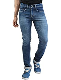 Denim Vistara Men's Slim Fit Blue Colored Jeans