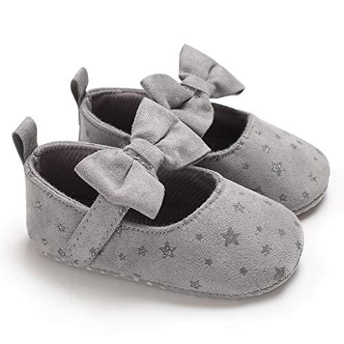 squarex Kleinkind Kleinkind Baby Mädchen Weiche Sohle Bogen Sterne Sandalen Schuhe Einzel Schuhe Zauberstab Prinzessin Schuhe Freizeitschuhe Turnschuhe