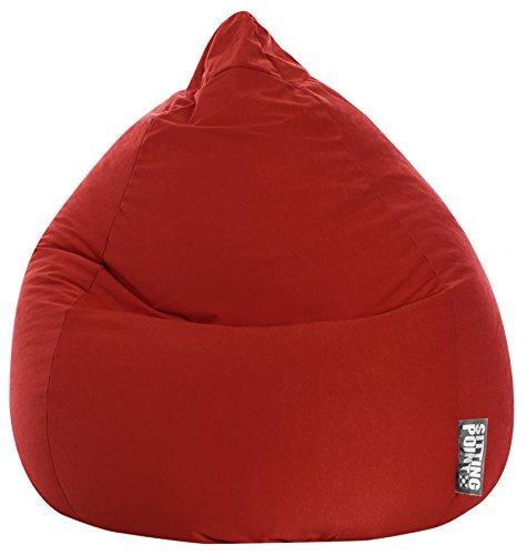 Sitting Point Sitzsack BeanBag EASY XL rot 70x110 cm 220l