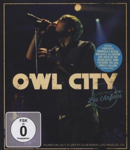 Preisvergleich Produktbild Owl City - Live from Los Angeles [Blu-ray]