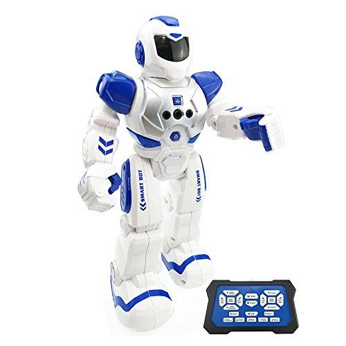 Pueri RC Roboter Multifunktionale Fernbedienung Intelligente RC Spielzeug Singen Tanzen Roboter Mit Musik Licht für Kinder