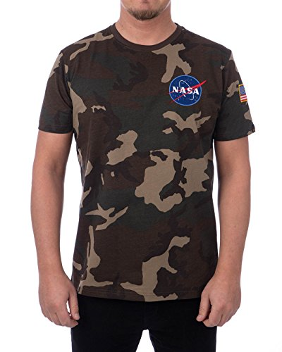 Alpha Industries Space Shuttle T-Shirt Camouflage L -