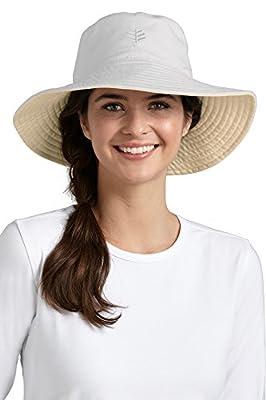 Coolibar - UV Schutz Damenhut - Weiß