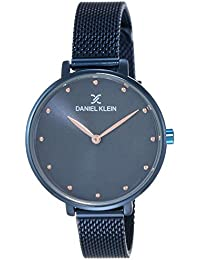 Daniel Klein Analog Blue Dial Women's Watch - DK11421-7
