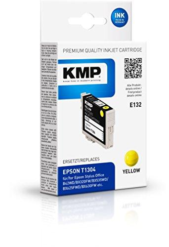 Preisvergleich Produktbild KMP Tintenkartusche für Epson Stylus SX525WD,  E132,  yellow