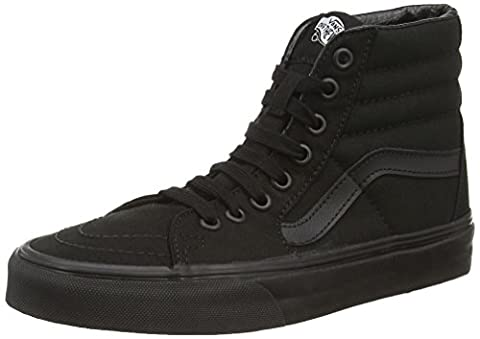 Vans U SK8-HI , Unisex-Erwachsene Hohe Sneakers, Schwarz (black/black/black), 44