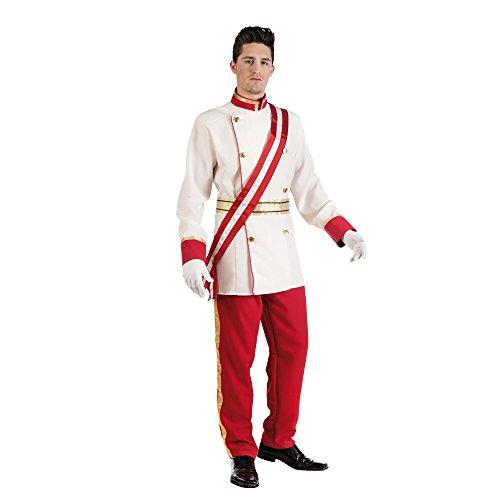 Limit Kostüme Historic Franz Joseph Kaiser Fancy Kleid für Mann (Large, weiß/rot) (Joseph Kostüm Männer)