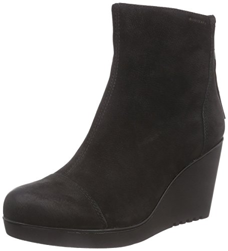 Vagabond Valencia, Damen Kurzschaft Stiefel, Schwarz (20 Black), 40 EU