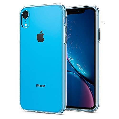Spigen Liquid Crystal Kompatibel mit iPhone XR Hülle, 064CS24866 Transparent TPU Silikon Handyhülle Durchsichtige Schutzhülle Case (Crystal Clear) Schutzhülle Case