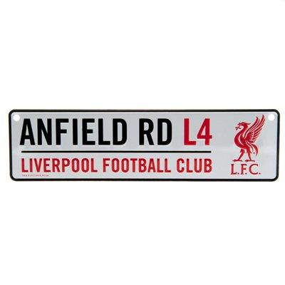 Prodotto ufficiale di Liverpool FC sollevato Street Sign 26�x 7�cms nuovo sigillato Liverbird