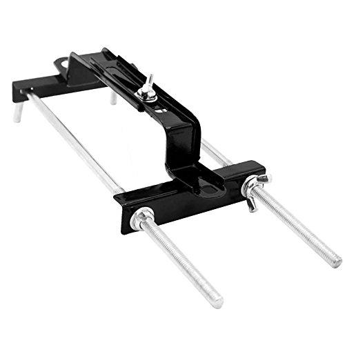 asiproper Auto Batterie Halter einstellbar Stabilisator Metall Rack Mount Bracket