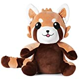 """corimori 1849 (9+ designs) """"Ponva"""" il panda rosso Peluche Pupazzo Bambini Neonati Adulti Giocattolo di Pezza Coccolone Morbido, 30cm"""