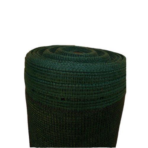 10m Schattiernetz Zaunblende Tennisblende Windschutznetz Bauzaun 150g 2m breit