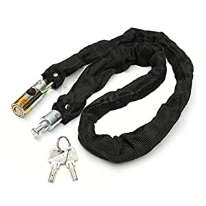 Easy4buy Bike Helmet Lock, Chain Lock, Luggage Lock Device Garage Door and Grill