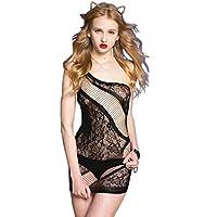 Sexy Petite fishnet minidress body stocking - very sexy quality black full length bodystocking,fits UK4- UK12