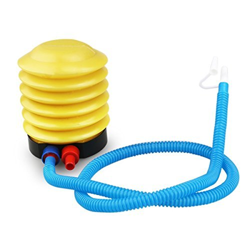pixnor-mini-inflatable-toy-balloon-foot-air-pump-inflator-yellow-blue