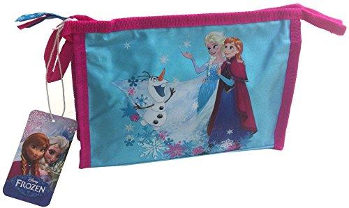Frozen la Reina de Hielo Niños Beauty Bag Bolsa de aseo bolsa Lavado funda azul rosa