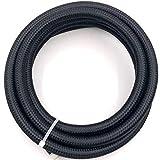 Shjiegan Fuel Line Oil/Gas/Fuel Hose End Fitting Hose Separator Clamp Kit(None 1)