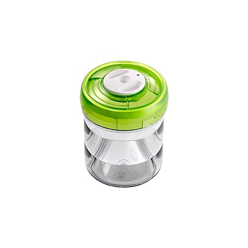 Zepter VacSy Plastic Canister D11x12,5CM 0.75L Green