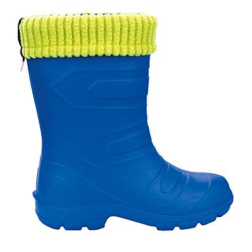 Ultra Light EVA Kids Wellington Boots Rainy Snow Wellies Warm Flace Liners