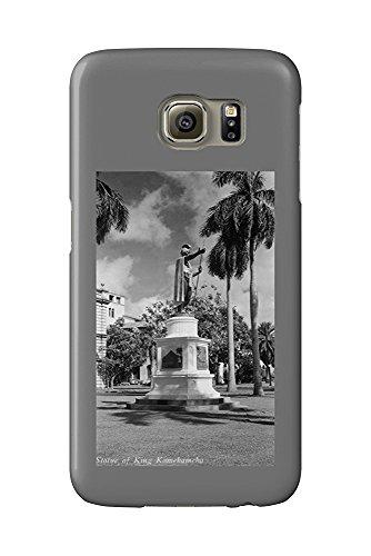 Hawaii - King Kamehameha I Statue on Kapaau Island Photograph (Galaxy S6 Cell Phone Case, Slim Barely There) - Island Statue
