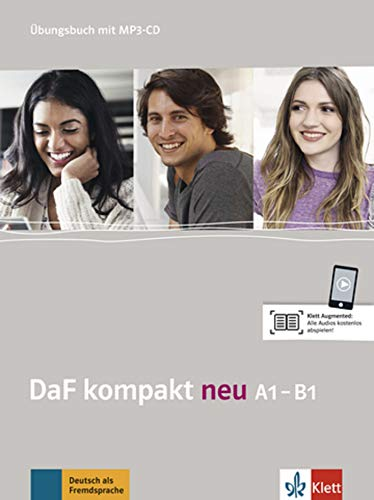 DaF kompakt neu a1-b1, libro de ejercicios por Birgit Braun
