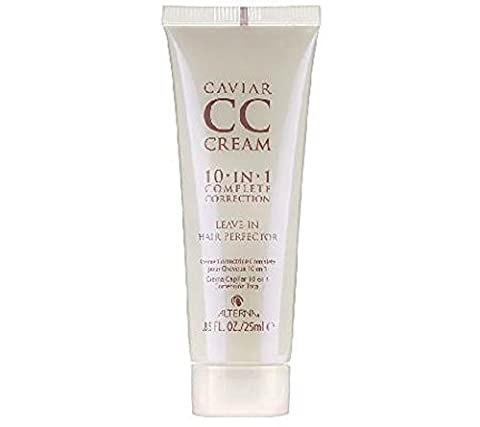 Alterna Caviar CC Cream 10-in-1 Complete Correction Leave-In Hair Perfector Travel Size 25ml