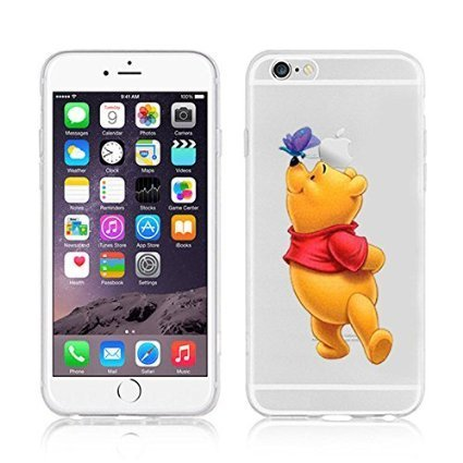 Disney Winnie The Pooh & Friends Coque souple en TPU pour Apple iPhone 5/5S et 5 Plus/S Plus., plastique, WINNIE .2, APPLE IPHONE 5SE