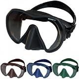 Beuchat Maxlux Tauchmaske S - für schmale Gesichtsformen (Farbe: blau)