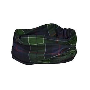 41GCATIlKhL. SS300  - Ruffnek SCOTTISH 'HUNTING' TARTAN (MacLeod) PRINT SCARF Multifunctional Headwear Neck warmer