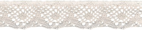 Spider Cluny Lace 1–7/40,6 cm breit 12 yards-white