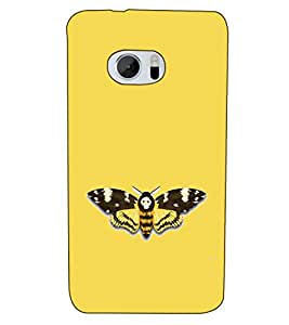 Fuson Designer Back Case Cover for HTC 10 :: HTC One M10 (Butterfly Beautiful Art)