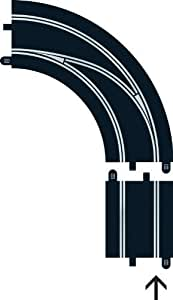 Scalextric C7007 Digital Track Radius - 90 Degrees Out to In LH Lane Change by Hornby TOY (English Manual)