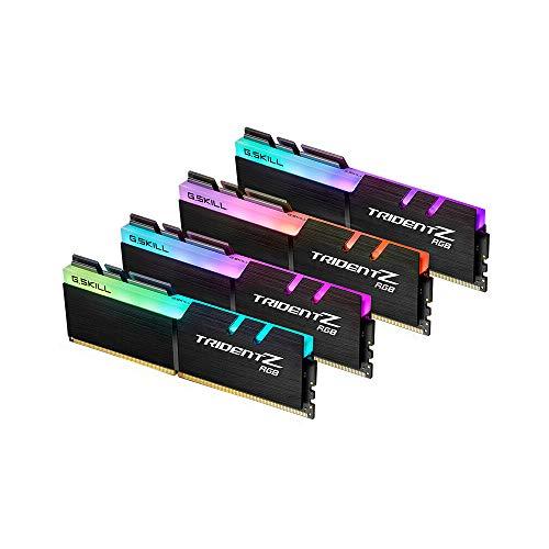 Docooler G.Skill TridentZ RVB Séries 32 Go (4 x 8 Go) DDR4 3200 MHz F4-3200C16Q-32GTZR Docooler