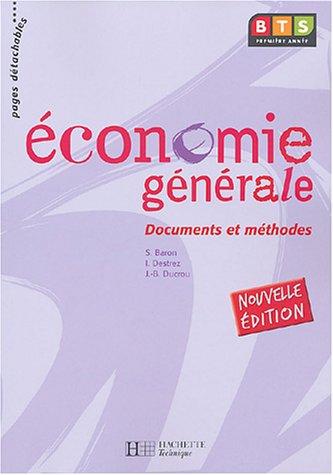 Economie générale BTS 1 : Docs et méthodes