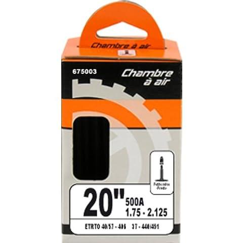 Sixsept 675003 Chambre à air 20 pouces x 1.50 - 2.00 ETRTO 40/54 - 406 Presta petite valve