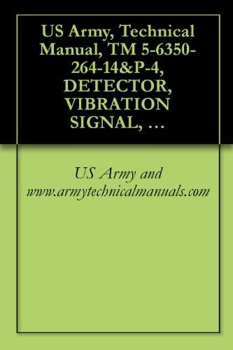 US Army, Technical Manual, TM 5-6350-264-14&P-4, DETECTOR, VIBRATION SIGNAL, DT-546/FSS-9(V), NSN 6350-00-228-25, PROCESSOR, VIBRATION SIGNAL, MX-9443/FSS-9(V) (English Edition)