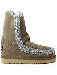4189M stivali bimbo bimba marroni MOU eskimo scarpe boots shoes kids unisex ada5caa4eb4
